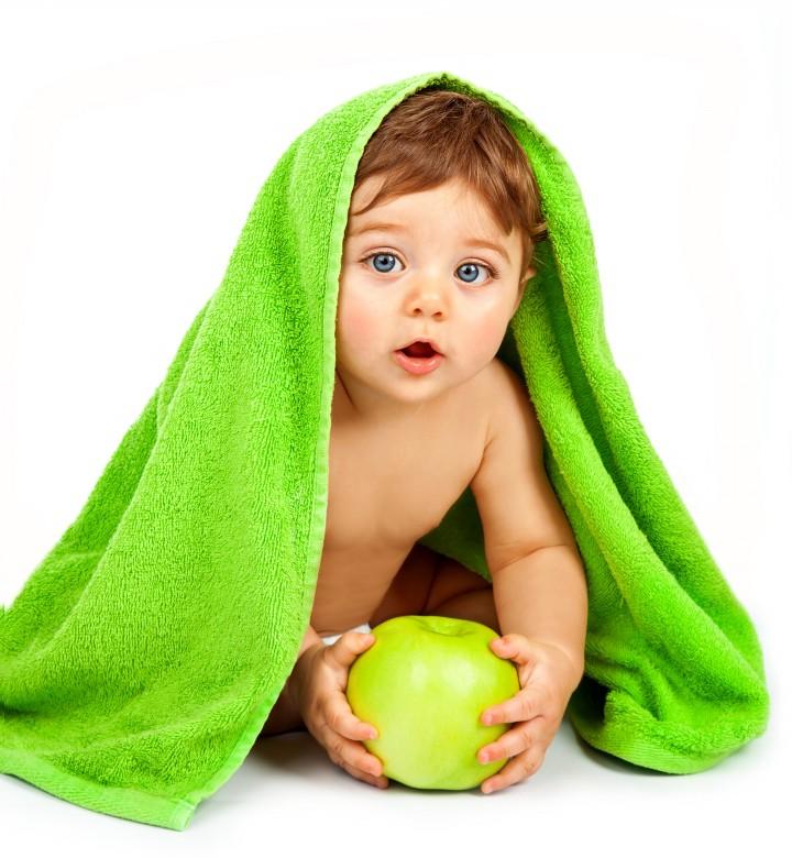 Cute Little Baby Play