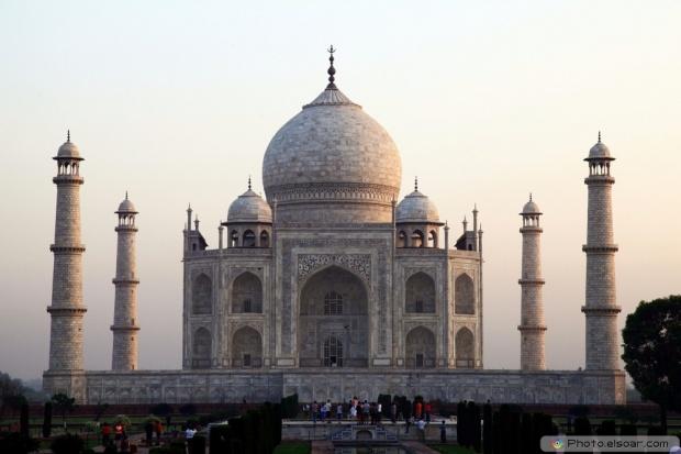 Different View Of Taj Mahal