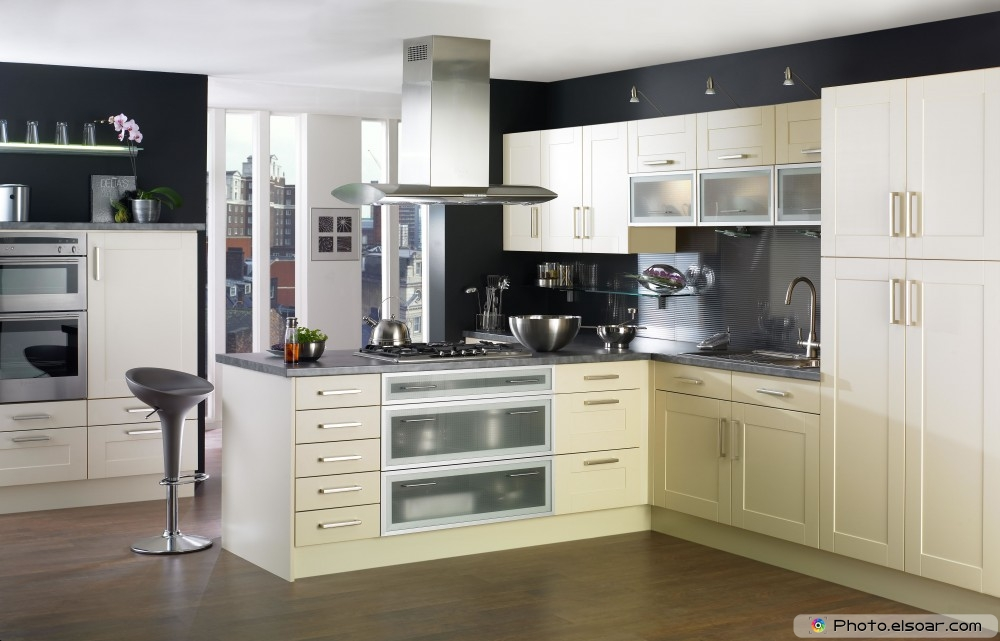 Kitchen decorating, lighting and storage ideas (34 pics) • elsoar
