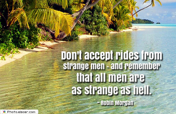 Women's Greetings , Don't accept rides from strange