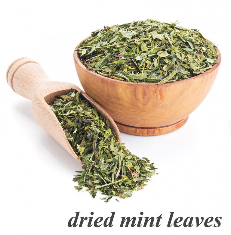 Dried Mint Leaves