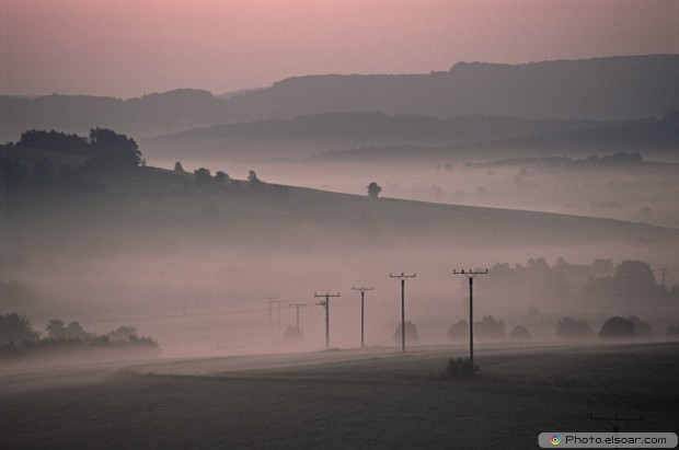 Early Morning In The Countryside