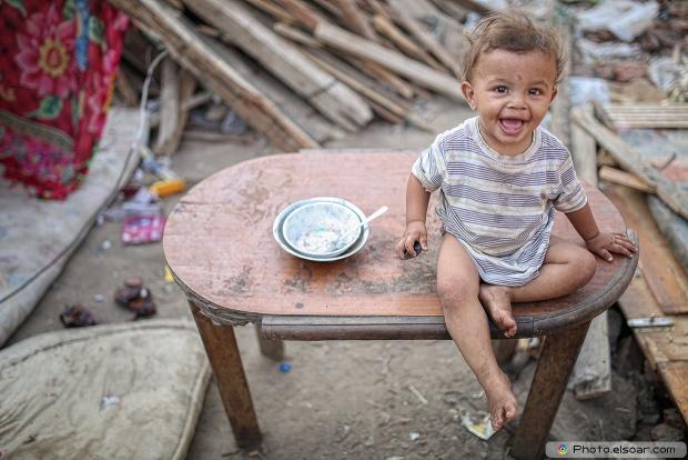 Egyptian Poor Kid