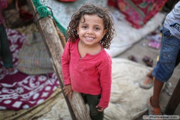 Egyptian Small Poor Girl