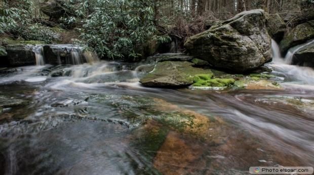 Elakala Falls at Blackwater State Park, West Virginia