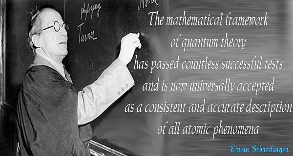 Erwin Schrodinger Quotes, Sayings Images 4