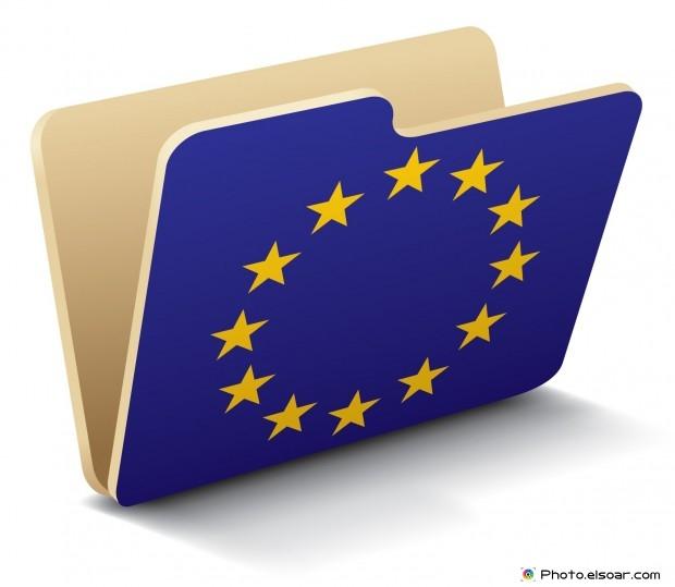 European Union Flag - Folder Icon
