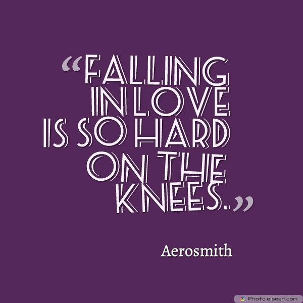 Falling in love is so hard