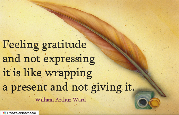 Admin Asst Day , Feeling gratitude and not expressing it is like wrapping