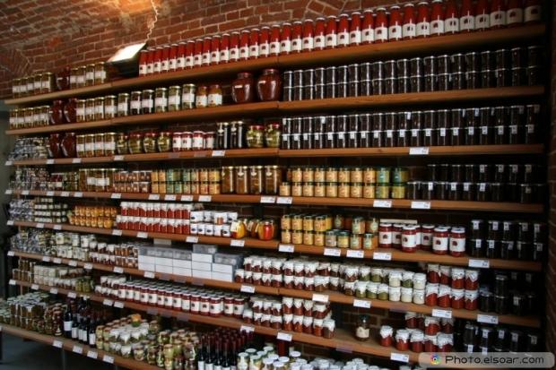 Foods In Supermarket