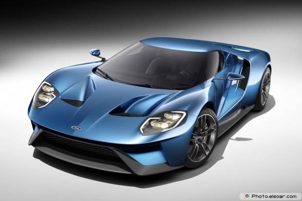 Ford GT Front Three Quarters