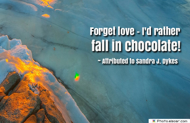 Women's Greetings , Forget love</strong> - <em>I'd rather fall