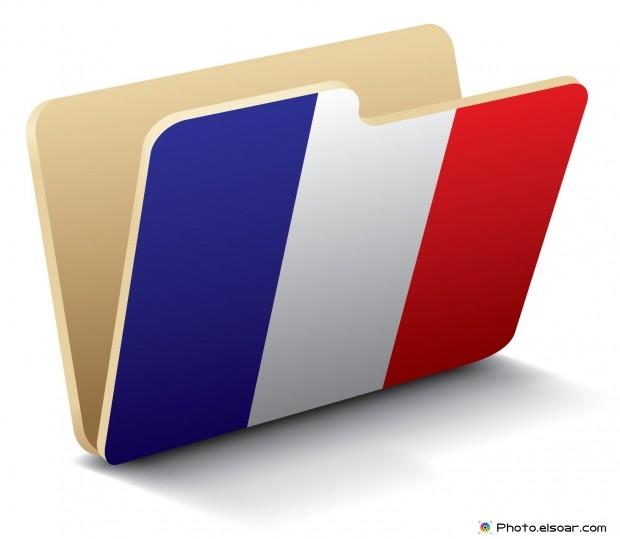 France Flag - Folder Icon