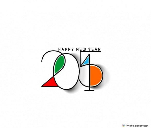 Free Happy New Year 2015 Card Photo