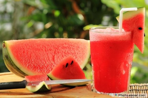 Fresh Watermelon Smoothie