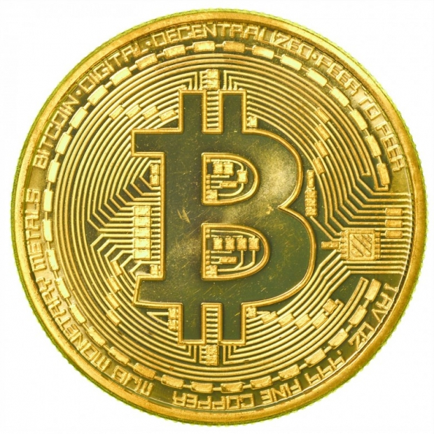 Gold bitcoin. Physical