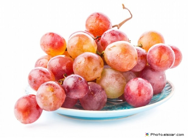 Grapes In A Dish
