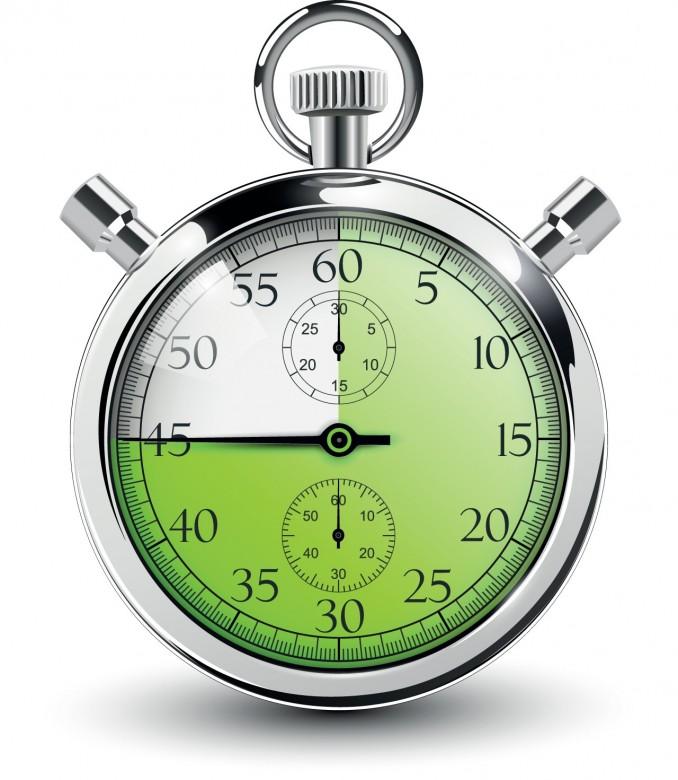 Green, Silver Alarm clock