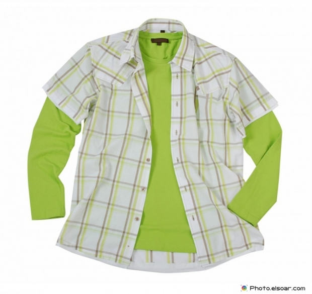 Green shirt