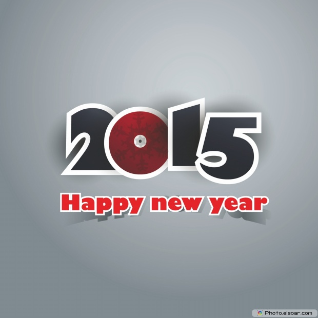 Greeting Card For Happy New Year 2015