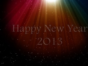 Happy New Year HD Wallpapers 2013