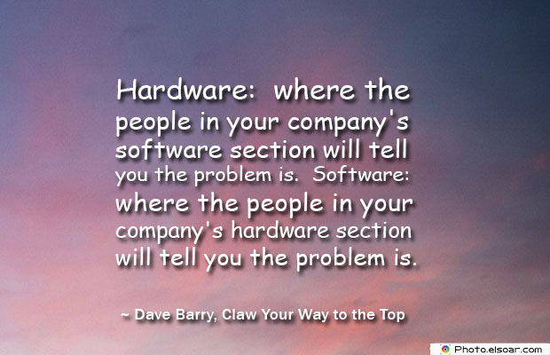 Hardware where the people