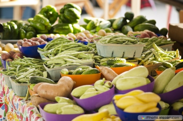 Healthy Vegetables At Farmers Market