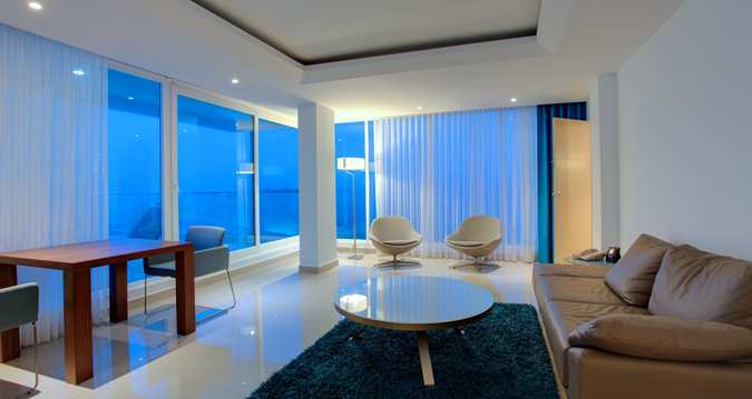King Alcove Suite with Parlor and Terrace Ocean View