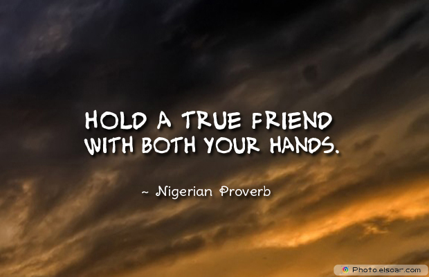 Best Friends Forever , Hold a true friend with both
