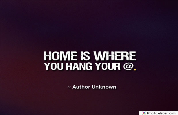 Home is where you