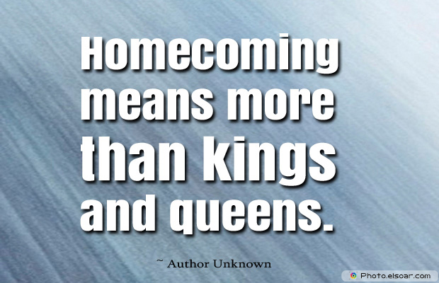 Homecoming means more than kings