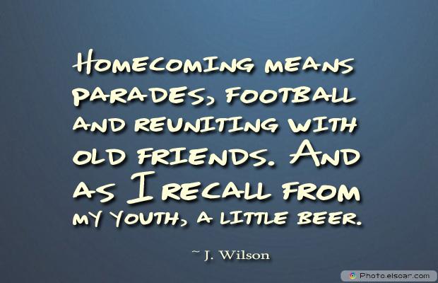 Homecoming means parades, football and reuniting