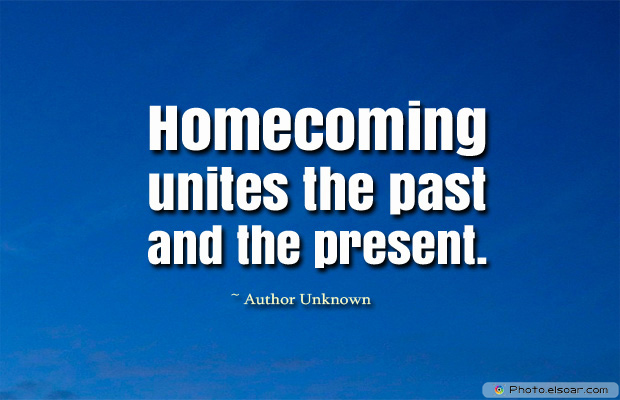 Homecoming unites the past and the present