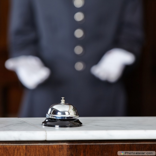 Hotel Bell On Counter