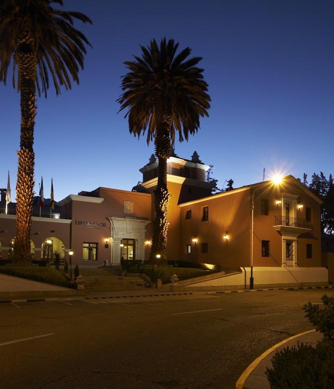 Hotel Libertador Arequipa, Fachada