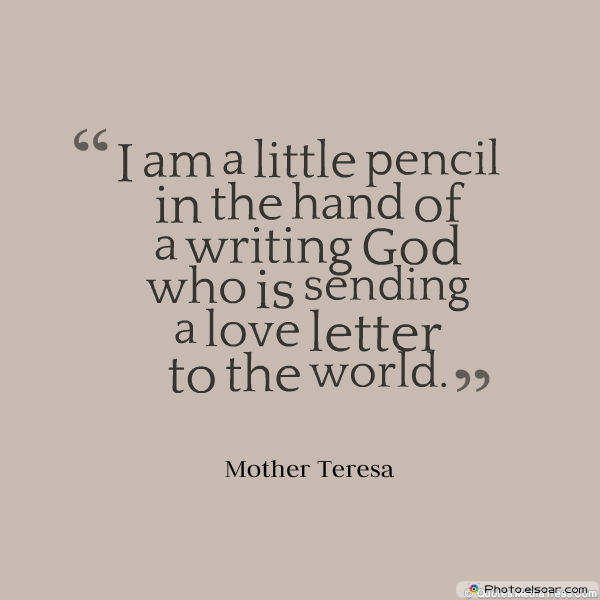 I am a little pencil in the hand