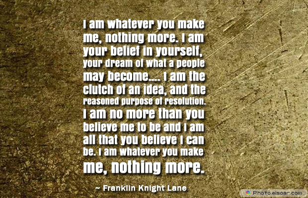 Flag Day , I am whatever you make me, nothing more