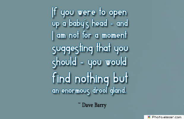 If you were to open up a baby's head