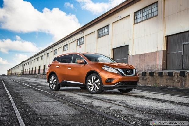 Image Of 2015 Nissan Murano Platinum Fwd Front Three Quarter