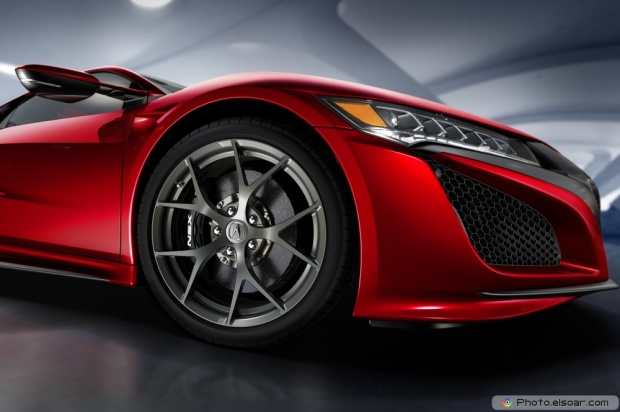 Image Of 2016 Acura NSX Front Wheels