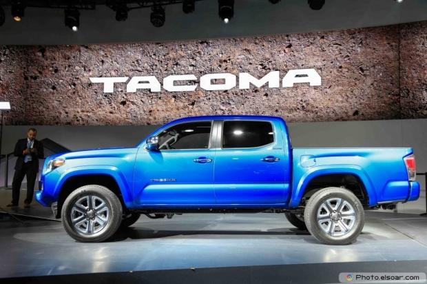 Image Of 2016 Toyota Tacoma Side Profile