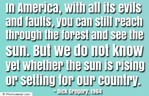 Quotes About America , America Quotes , In America, with all its evils and faults