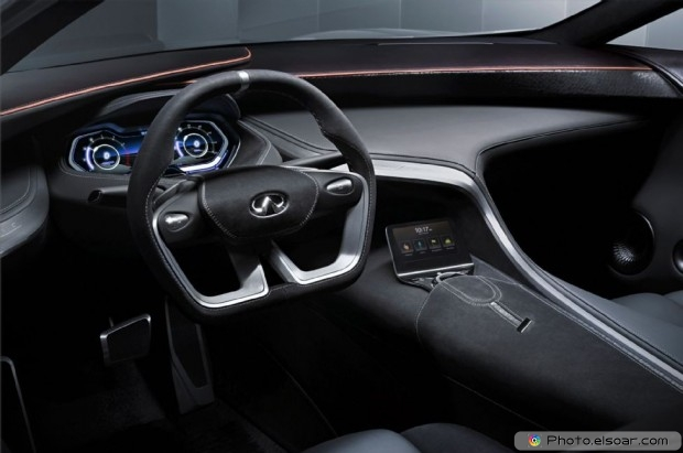 Infiniti Q80 Inspiration Concept Cockpit