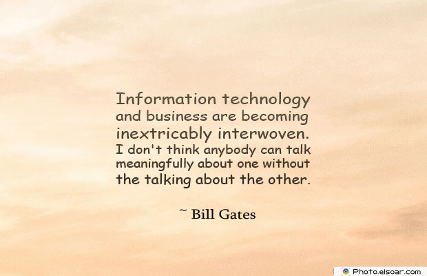 Information technology and business