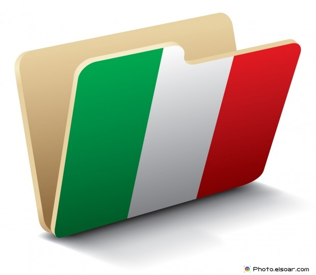 Italy Flag - Folder Icon