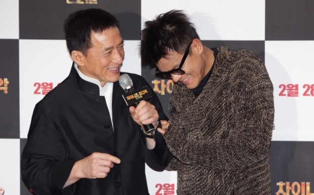 Jackie Chan, Park Jin-Young