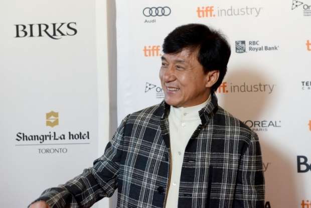 Jackie Chan in Asian Film Summit Banquet - photo call - 2012 Toronto International Film Festival