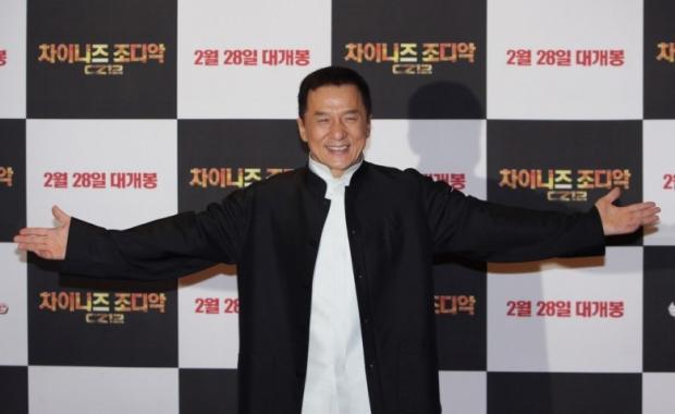 Jackie Chan in Chinese Zodiac, Seoul Premiere
