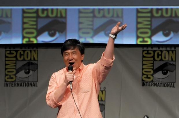 Jackie Chan in Comic-Con International 2012 - CZ12 Panel