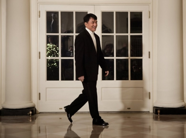 Jackie Chan in White House